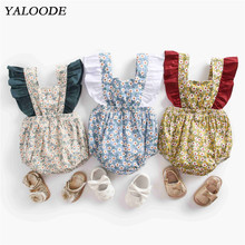 Newborn Rompers Baby Girl Clothes Sleeveless Bow Summer