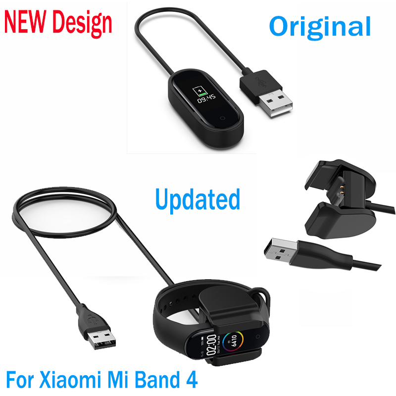 Charger Cable For Xiaomi Mi Band 4 Smart Wristband Bracelet For Mi Band 4 Faster Charging Cable Band 4 USB Charger Adapter Wire