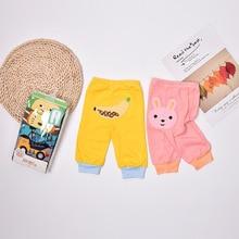 Toddler Trousers Clothing Baby-Pants Newborn Girls Infant Autumn Boys Cotton Cartoon