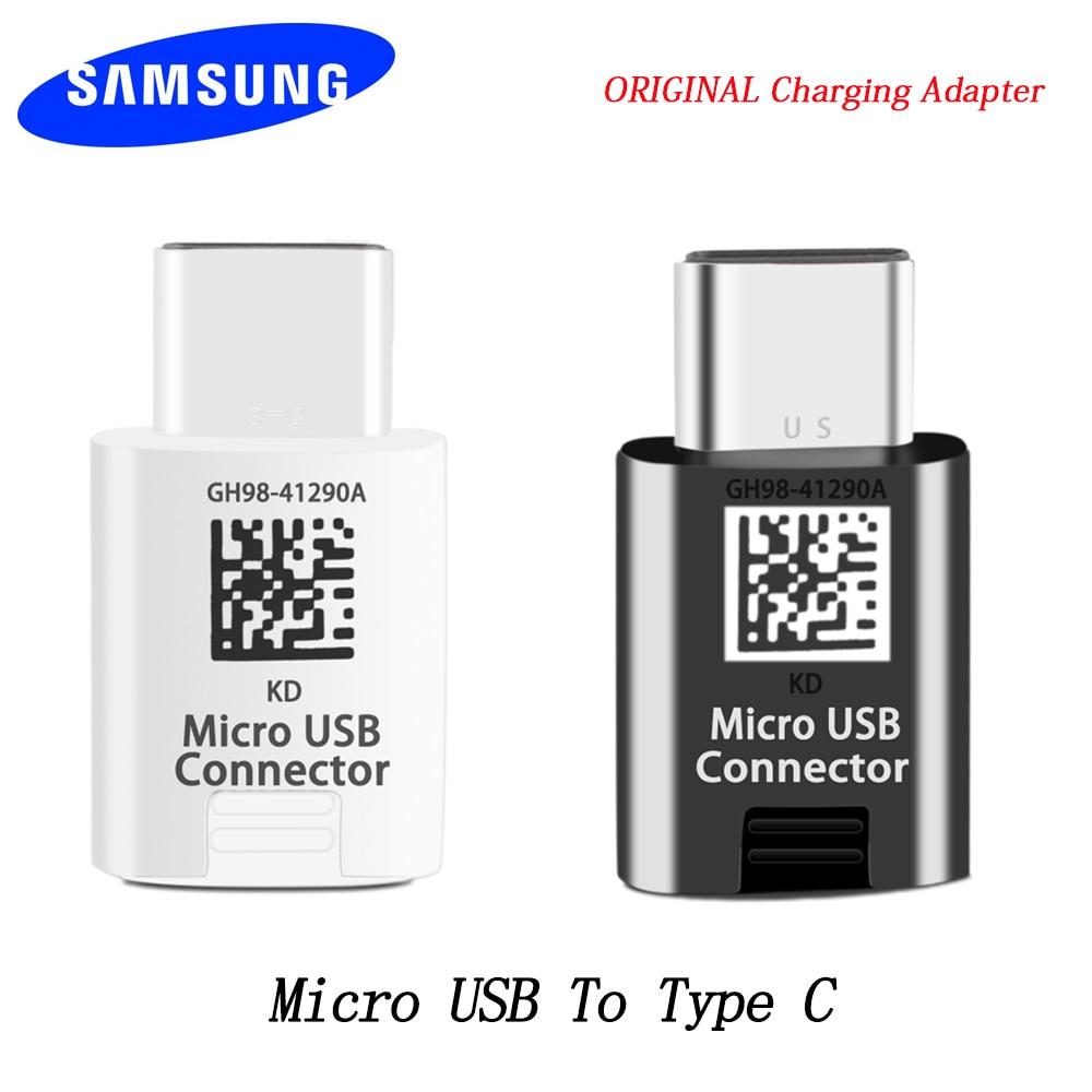 Samsung Micro USB TO Type C Converter Adapter For Galaxy S8 S8 Plus S9 S9plus S10 S10PLUS S10E Note 7 8 9 Other USB C Smartphone