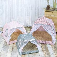 Produtos para animais de estimação cama de gato geral tenda fechada cozy hammock com pisos barraca gato de estimação acessórios pequena casa de cachorro produtos