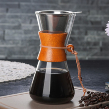 Get more info on the New Arrival 2018 Heat Resistant Classic Glass Coffee Maker  Style Pour Over Coffeemaker 550ml/3 Cups Coffee Drip Pot