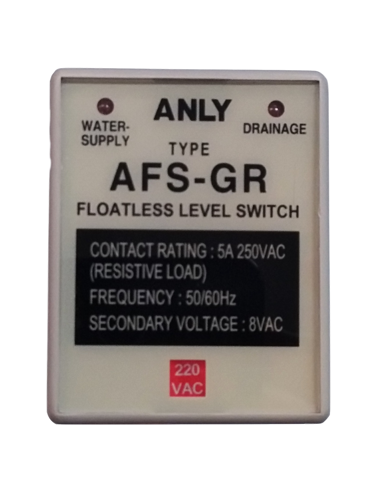 Original Authentic ANLY AFS-GR Level Controller Water Level Controller