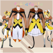 Anime Hatsune Miku Cosplay Costumes Kagamine Len Kagamine Rin Cosplay Costume Circus Troup Uniforms Halloween Party Game Cosplay