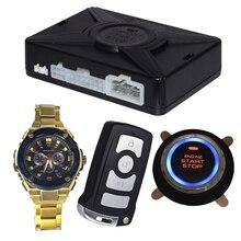 Cardot New Watch Smart Key Remote Control Start Stop System PKE Car Alarms