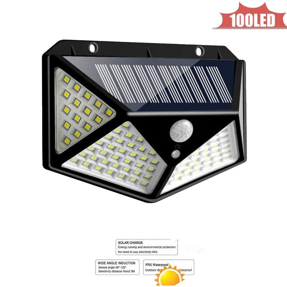Solar Lamp Outdoor Led Light Wall Street Garden Security PIR Motion Sensor Solar Powered Lampada Waterproof IP65 Decorative 4 si