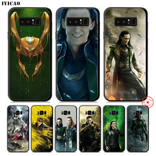 IYICAO Marvel Hero Loki Zachte Telefoon Geval voor Samsung Galaxy S10e S10 S9 S8 Plus S6 S7 Rand Note 10 plus 9 8(China)
