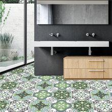 10 шт Нескользящие керамические плитки наклейки для ванной комнаты