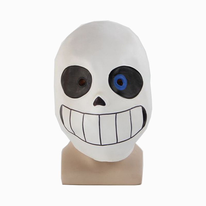 Undertale Sans Mask Cosplay Papyrus Full Head Latex Halloween Mask Props Adult
