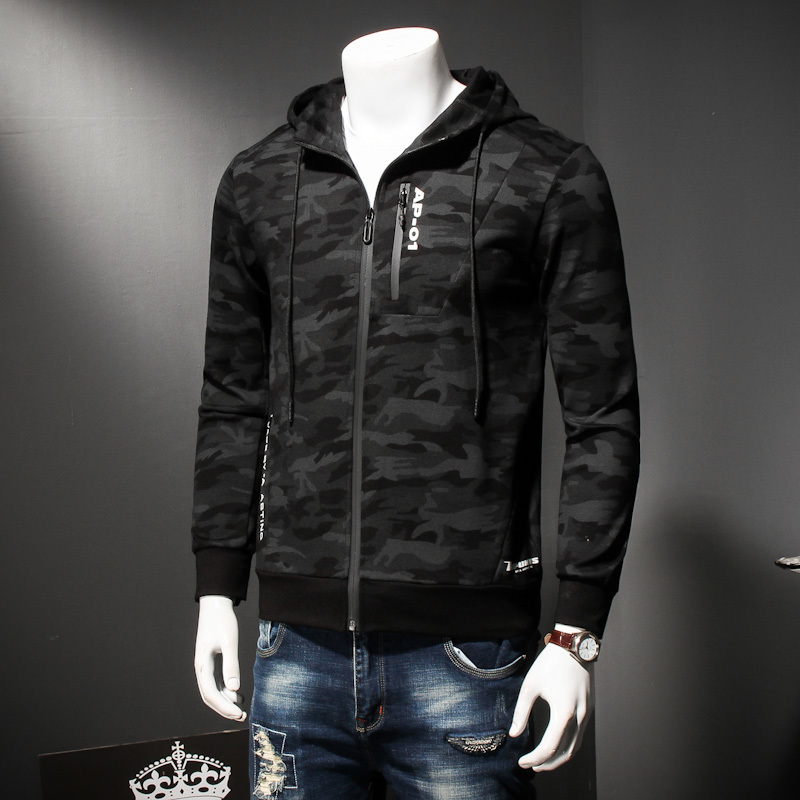 8XL 7XL plus size Spring Autumn Mens Casual Camouflage Hoodie Jacket Men Waterproof Clothes Men's Windbreaker Coat Male Outwear