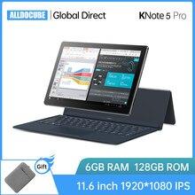 Alldocube KNote5 Pro 11.6 inch FHD Windows Tablet office Intel N4000 6GB RAM 128GB ROM Cube Tablets PC 2.4G/5G WiFi LCD KNote 5