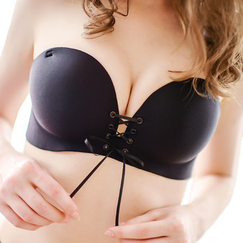 Sexy Women Strapless Invisible Bra Push Up High Quality Bandage Pull Bras 1/2 Cup Seamless Fashion Girls Bra Top Underwear 1