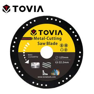 Cutting-Disc Saw-Blade Diamond Stainless-Steel Metal 125mm Aluminum TOVIA