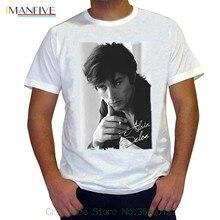 Newest 2019 T Shirt Men Tshirt Alain Delon : Mens T-shirt Picture Celebrity 7015242