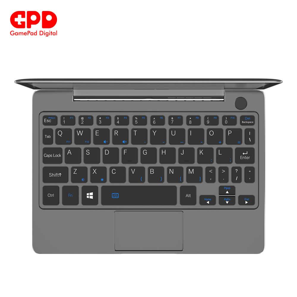 משחקי מחשב נייד GPD P2 מקס מחשבים ניידים עם windows 8.9 אינץ מחברת היתר Core m3-8100y 16GB 512GB מיני מחשב נייד ноутбук