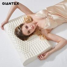 Giantexラテックス枕マッサージ枕睡眠のための整形外科枕kussens oreiller almohada頚椎poduszkapメモリ枕