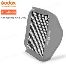 "Godox 40x40 سنتيمتر 15 ""x 15"" العسل الشبكة ل Godox S نوع ستوديو فلاش Speedlite الفوتوغرافي Softbox (40*40 سنتيمتر الشبكة فقط)"