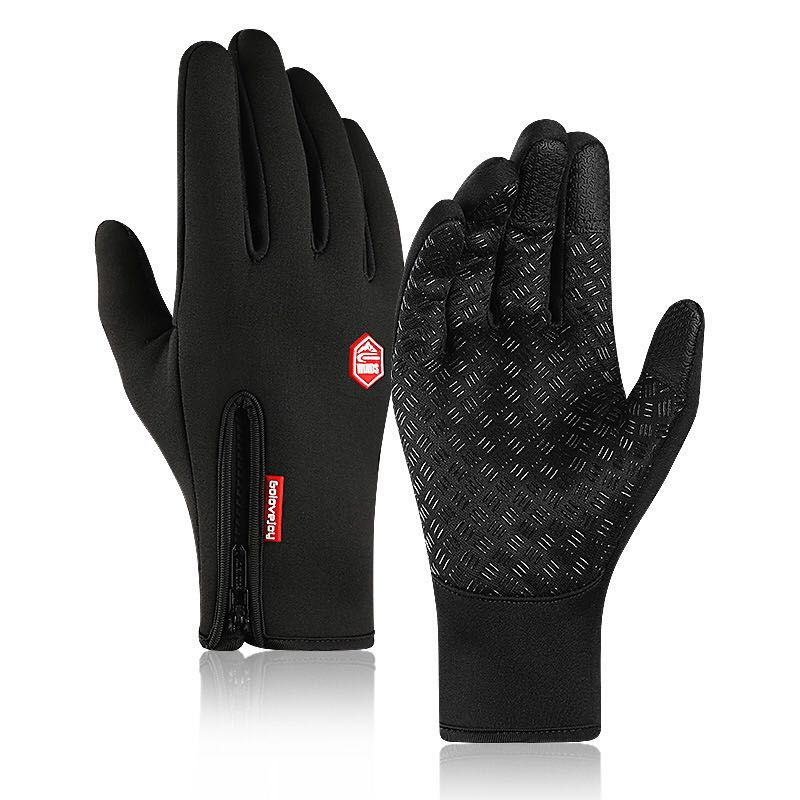 Winter Skiing Men's Gloves Warm Waterproof Cycling Camping Motorcycle Hiking Autumn Touch Screen Windproof Running Women Gloves