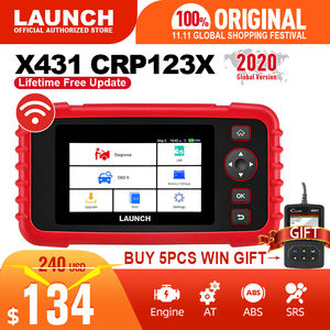 Image 1 - launch x431 crp123X obd2 scanner auto code reader car diagnostic tool ENG AT ABS SRS diagnostic scanner automotive tool crp123