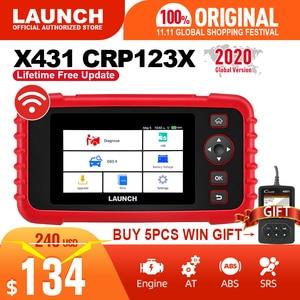 Image 1 - 起動x431 crp123X obd2スキャナー自動コードリーダー車の診断ツールでeng abs srs診断スキャナー自動車ツールcrp123