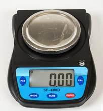 Balance numérique de haute précision SF-400D g x 500g, nouvelle Balance de poche électronique Portable pour bijoux en diamant 0.01