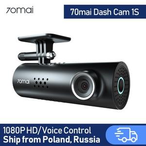 70mai Dash Cam 1S Car DVR 70 mai Camera Support Smart Voice Control WIFI Wireless Connect 1080P HD 130 Degree FOV(China)