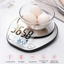 Portable 5kg 1g Digital Scale LCD Electronic Scales Steelyard Kitchen Scales Postal Food Balance Measuring Weight Libra 100g 0 1g 1kg 0 1g portable scales jewelery digital scales 0 01g 0 1g high precious medicinal herbs gold scales pocket hot sale