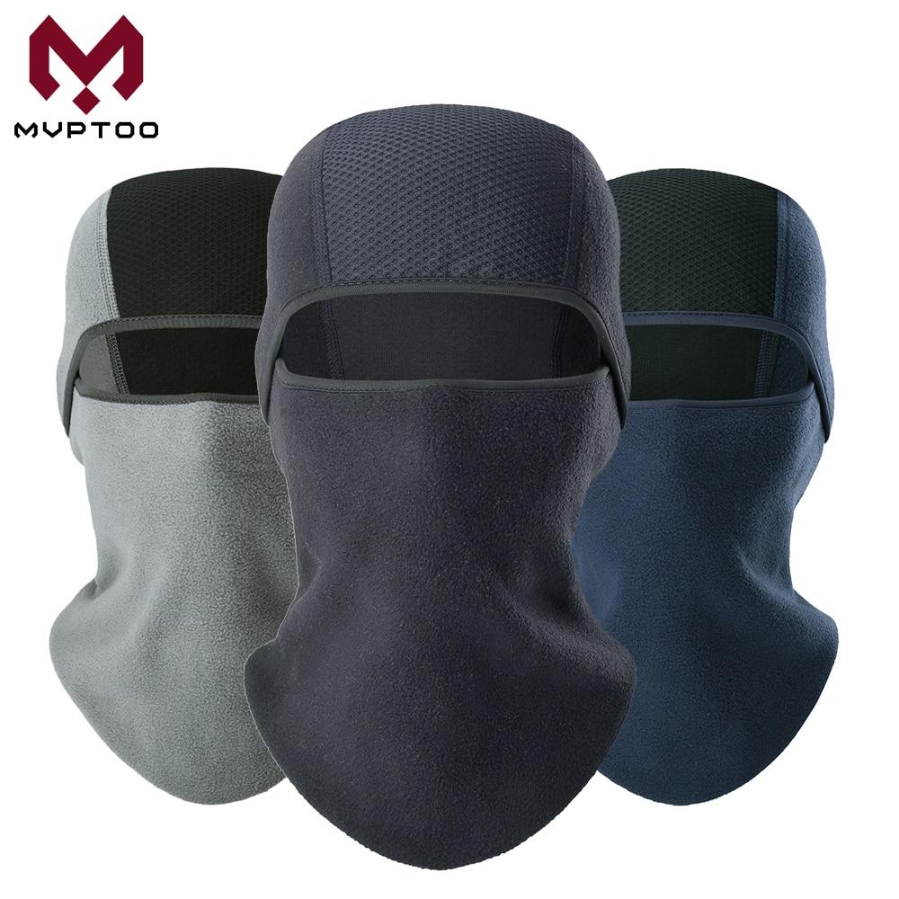 Winter Fleece Balaclava Cap Face Shield Motorcycle Motorbike Moto Cycling Military Tactical Head Mask Hood Liner Hats Men Women