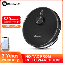 NEATSVOR X600 4000pa Laser Navigation Robot Vacuum Cleaner ,APP Virtual wall,Breakpoint Cleaning,Draw Cleaning Area,Mopping wash