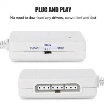 Ruitroliker Game Controller Converter Adapter Cable for PS2 to for Wii Port Gamepad connectors wii to ps2 adapter