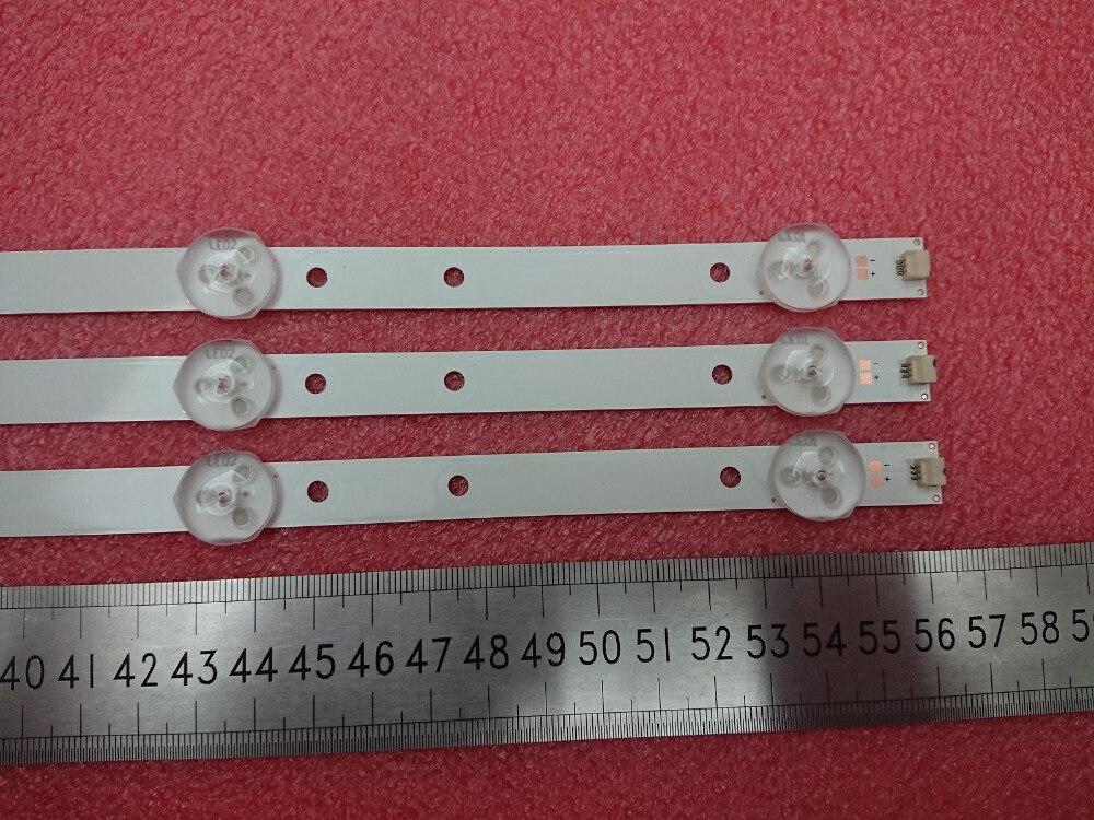 Motivated 3pcs Led Backlight Strip For Supra Stv-lc32t880wl Lc32t840wl Lb-m320x13-e1-a-g1-se2 Lb-c320x14-e12-l-g2-se3 Svj320ag2 Svj320al6 Low Price
