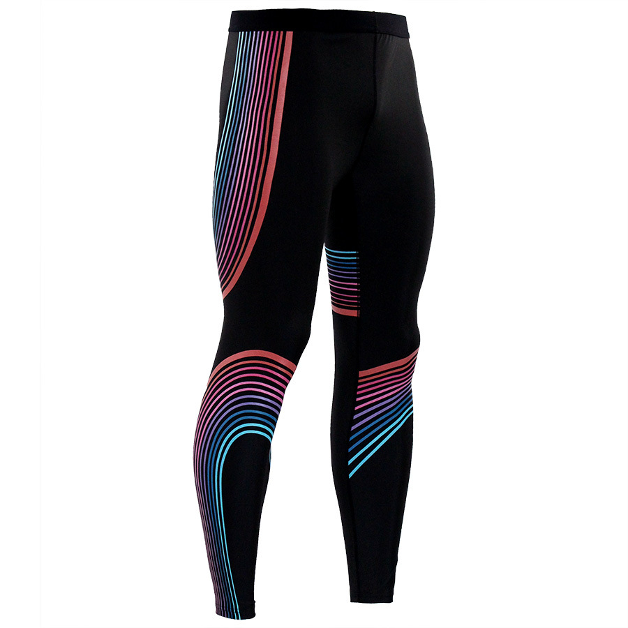 gym leggings sports men running pants fast dry compression fitness tight yoga