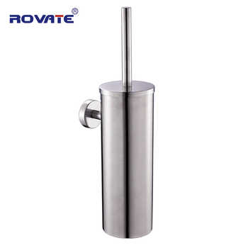 ROVATE Toilet Brush Holders 304 Stainless Steel Bathroom Accessories WC Brush For The Toilet - DISCOUNT ITEM  25% OFF All Category