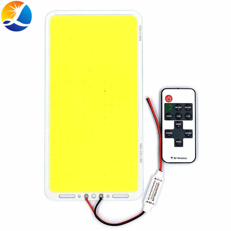 220X113 Mm 200W Dimmable Tongkol LED Panel Light Remote Control Lampu dengan Dimmer 12V Lampu LED papan untuk Indoor Outdoor Pencahayaan DIY