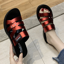 Summer Women Slippers Gladiator Casual Shoes Wedges Platform