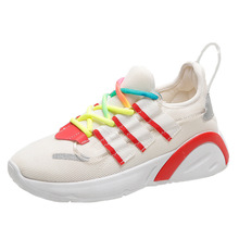 2020 Korean version of Harajuku spring and autumn sports shoes female wild casual running shoes ins super fire couple shoes wild embers poems of rebellion fire and beauty