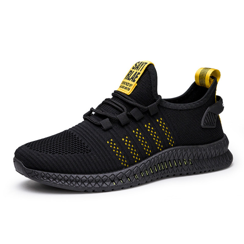 KUYOMENS ใหม่ตาข่ายผู้ชายรองเท้าผ้าใบลำลองรองเท้า Lac-up รองเท้าผู้ชายน้ำหนักเบาสบาย Breathable เดินรองเท...