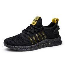 KUYOMENS New Mesh Men Sneakers Casual Shoes