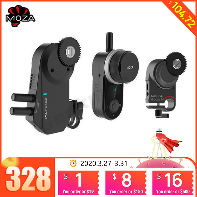 MOZA iFocus Wireless Follow Focus Motor for Moza Air 2, Air, or AirCross DSLR Gimbal Stabilizer Follow Focus Accessories instock