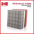 4 шт., звукопоглощающие губки для звукопоглощения звука, 50x50x5 см