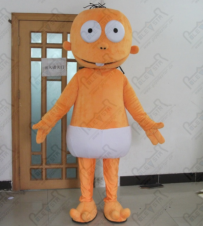 cartoon alien mascot custom baby monster costumes ET costumes