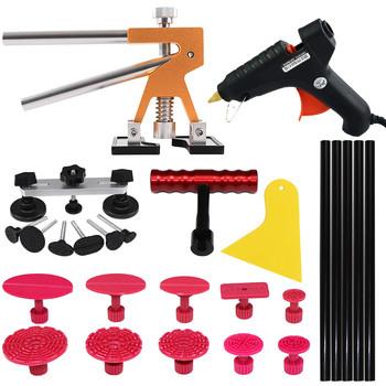 PDR TOOLS PAINTLESS DENT REPAIR TOOLS DENT REMOVAL CAR BODY REPAIR KIT TOOL TO REMOVE DENTS DENT PULLER SET SUCTION CUP auto body tools dent puller kit spotter stud welder spot welding gun washer chuck holder car bodywork dent repair automotive