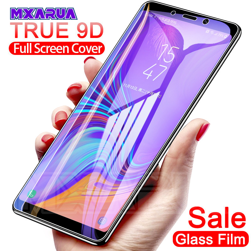 9D Protective Glass On The For Samsung Galaxy A3 A5 A7 2016 2017 A6 A8 Plus A9 2018 Tempered Screen Protector Safety Glass Film