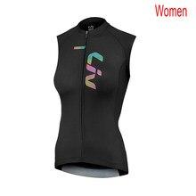 Nova das mulheres respirável camisa de ciclismo pro equipe liv verão secagem rápida sem mangas topos camisa da bicicleta estrada colete esportes uniformes