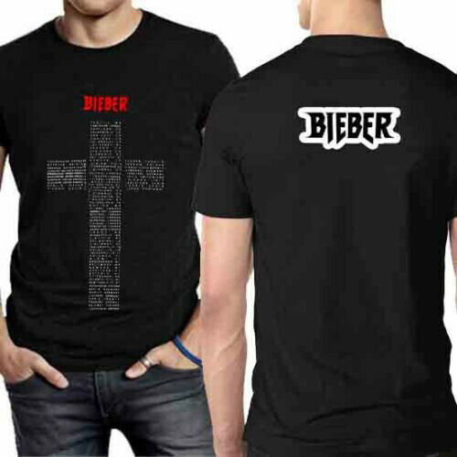 NEW /& OFFICIAL! Justin Bieber /'Profile/' T-Shirt Amplified Clothing