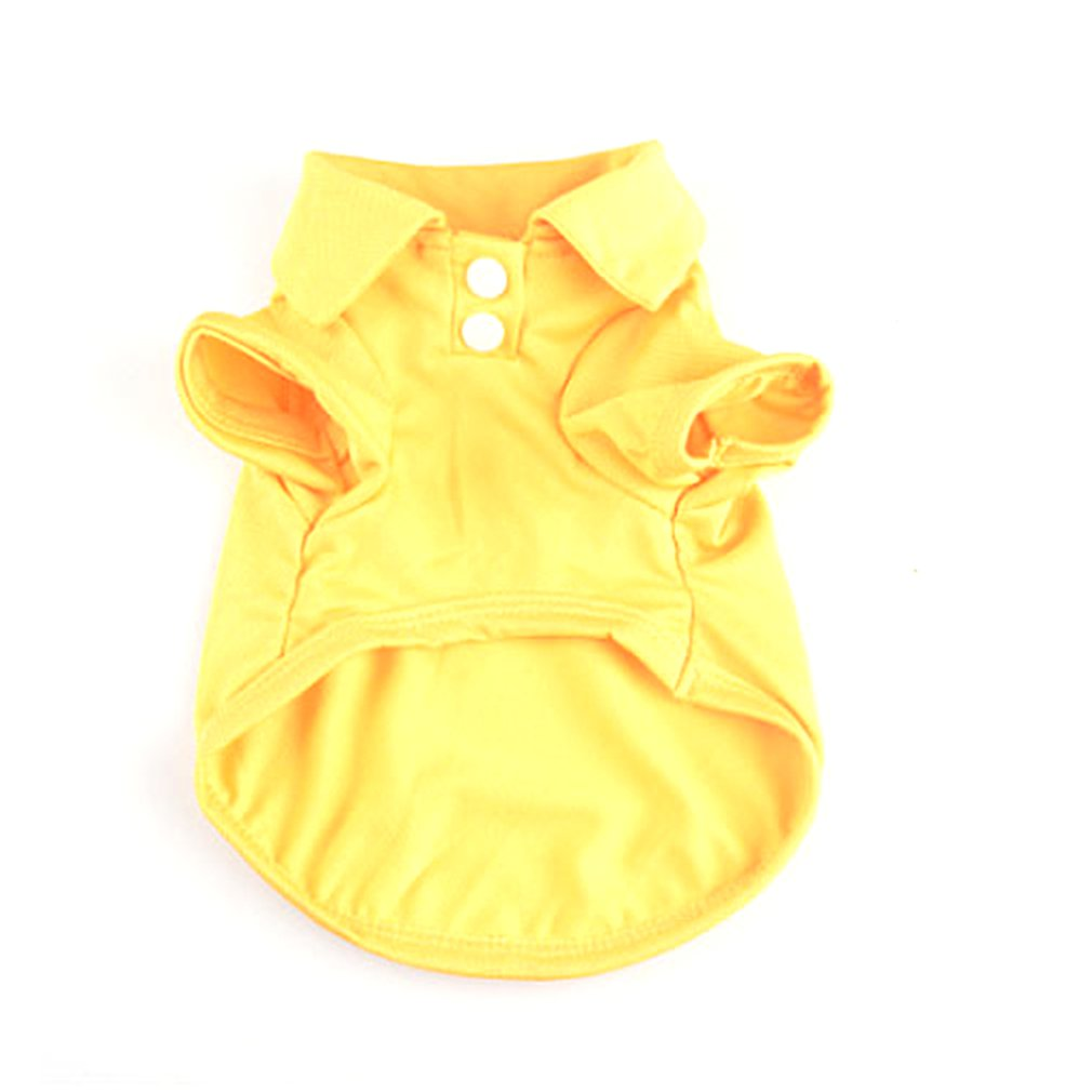 Fashionable Lovely Spring And Summer Clothes Teddy Dog POLP Shirt Pet Supplies For Dogs Cats