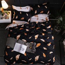 New Christmas Snowflakes Home bedding set 3 4pcs duvet cover set AB side bed linen flat sheet bedclothes adult Geometric cheap ArwenUndomi None Sheet Pillowcase Duvet Cover Sets 100 Polyester 1 0m (3 3 feet) 1 2m (4 feet) 1 35m (4 5 feet) 1 5m (5 feet)