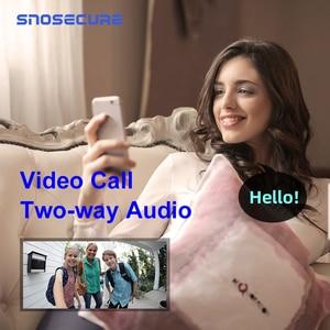 Image 3 - SNOSECURE กันน้ำโทรวิดีโอ WiFi Doorbell Intercom ALARM บ้านไร้สายประตูวิดีโอโทรศัพท์สำหรับ Apartment แบตเตอรี่ประตู