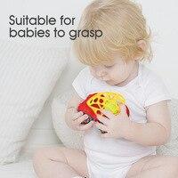 Bearoom Baby Rammelaars Mobiles Fuuny Baby Speelgoed Intelligentie Grijpen Tandvlees Zachte Bijtring Plastic Hand Bell hamer Educatief Gift 2