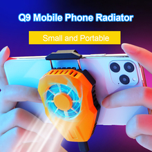 Phone Cooler Mobile Phone Clip Radiator Cooling Fan Portable USB Powered Cell Phone Gaming Cooler Heat Sink for iPhone Android